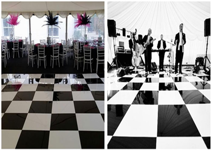 dance floor for event
