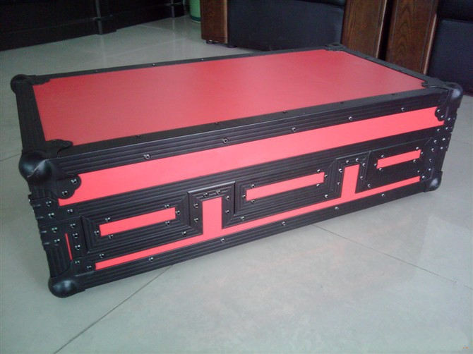Popular red color DJ mixer case