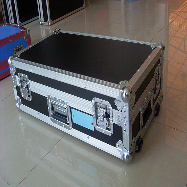 Popular Blue color DJ mixer case