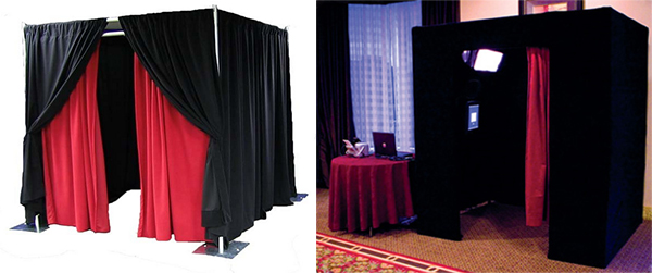 RK wedding party photo booth