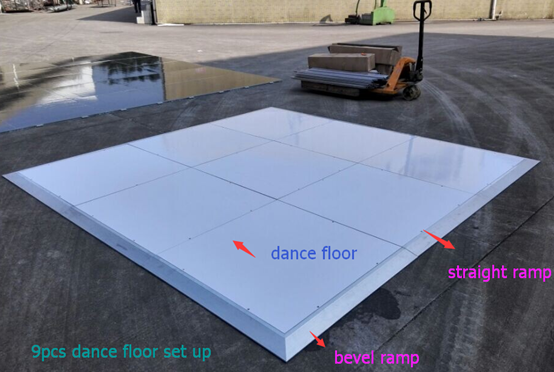 Portable Event Dance Flooring Wedding Dance Floor