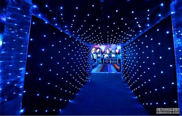 Portable LED Star Curtain