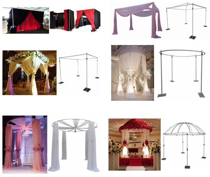 pipe and drape kits application