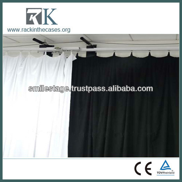 electric stage curtain system