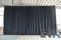 13ft Wide x 16ft High Velcro Drape
