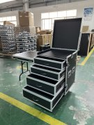 4-Drawer Road Case for Event Equip