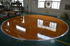 24ft Diameter Round Dance Floor Fo